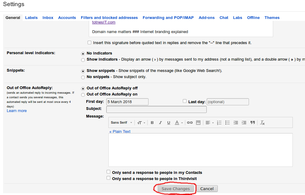 Getting on top of GMail – deleting everything not starred or